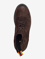 Scotch & Soda Shoes - Daan Low lace - laced boots - dark brown - 3