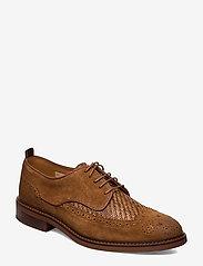 Scotch & Soda Shoes - Merapi Low lace - snøresko - cognac - 0