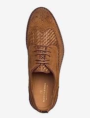 Scotch & Soda Shoes - Merapi Low lace - snøresko - cognac - 3