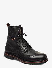 Scotch & Soda Shoes - Borrel Mid laceboot - brogues - black - 0
