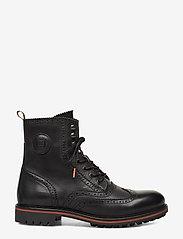 Scotch & Soda Shoes - Borrel Mid laceboot - brogues - black - 1