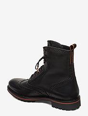 Scotch & Soda Shoes - Borrel Mid laceboot - brogues - black - 2