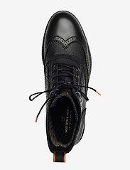 Scotch & Soda Shoes - Borrel Mid laceboot - brogues - black - 3