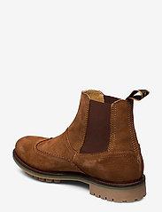 Scotch & Soda Shoes - Borrel Mid laceboot - chelsea boots - cognac - 2