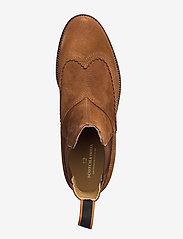 Scotch & Soda Shoes - Borrel Mid laceboot - chelsea boots - cognac - 3