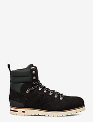Scotch & Soda Shoes - Borrel Mid laceboot - laced boots - black - 1