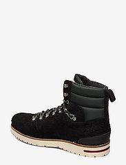 Scotch & Soda Shoes - Borrel Mid laceboot - laced boots - black - 2