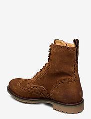 Scotch & Soda Shoes - Borrel Mid laceboot - laced boots - cognac - 2