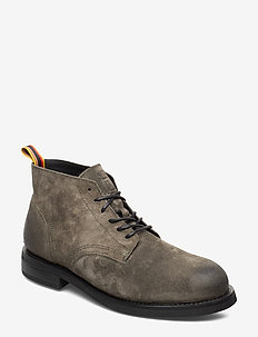Daan Low lace - veter schoenen - forest green