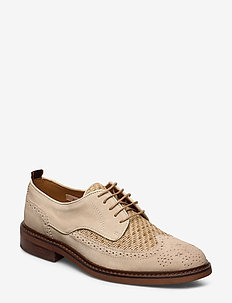 Merapi Low lace - laced shoes - sand