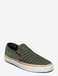 Izomi Slip-on shoes - chaussures slip-ons - military green