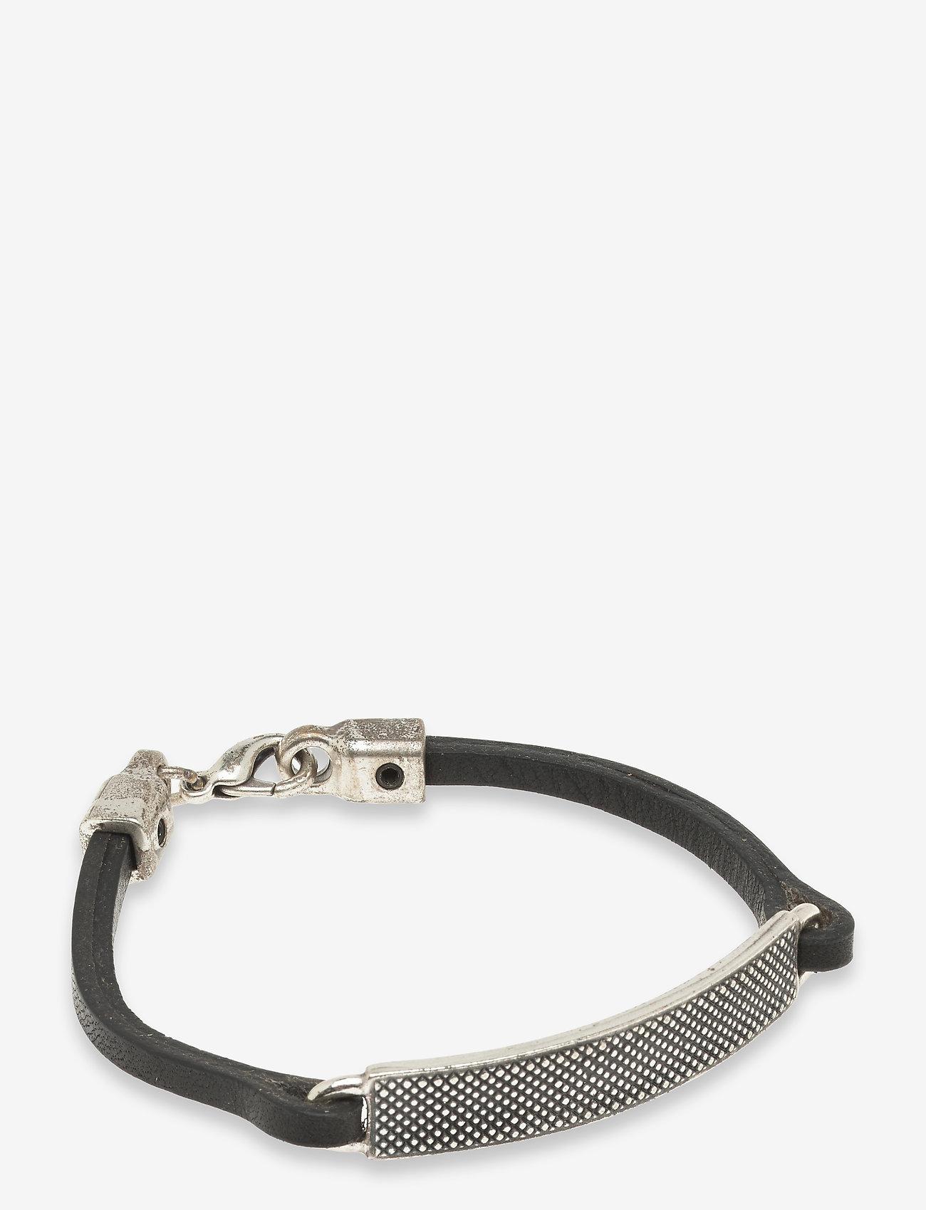 Saddler - Sdlr Bracelet Male - jewellery - black - 0