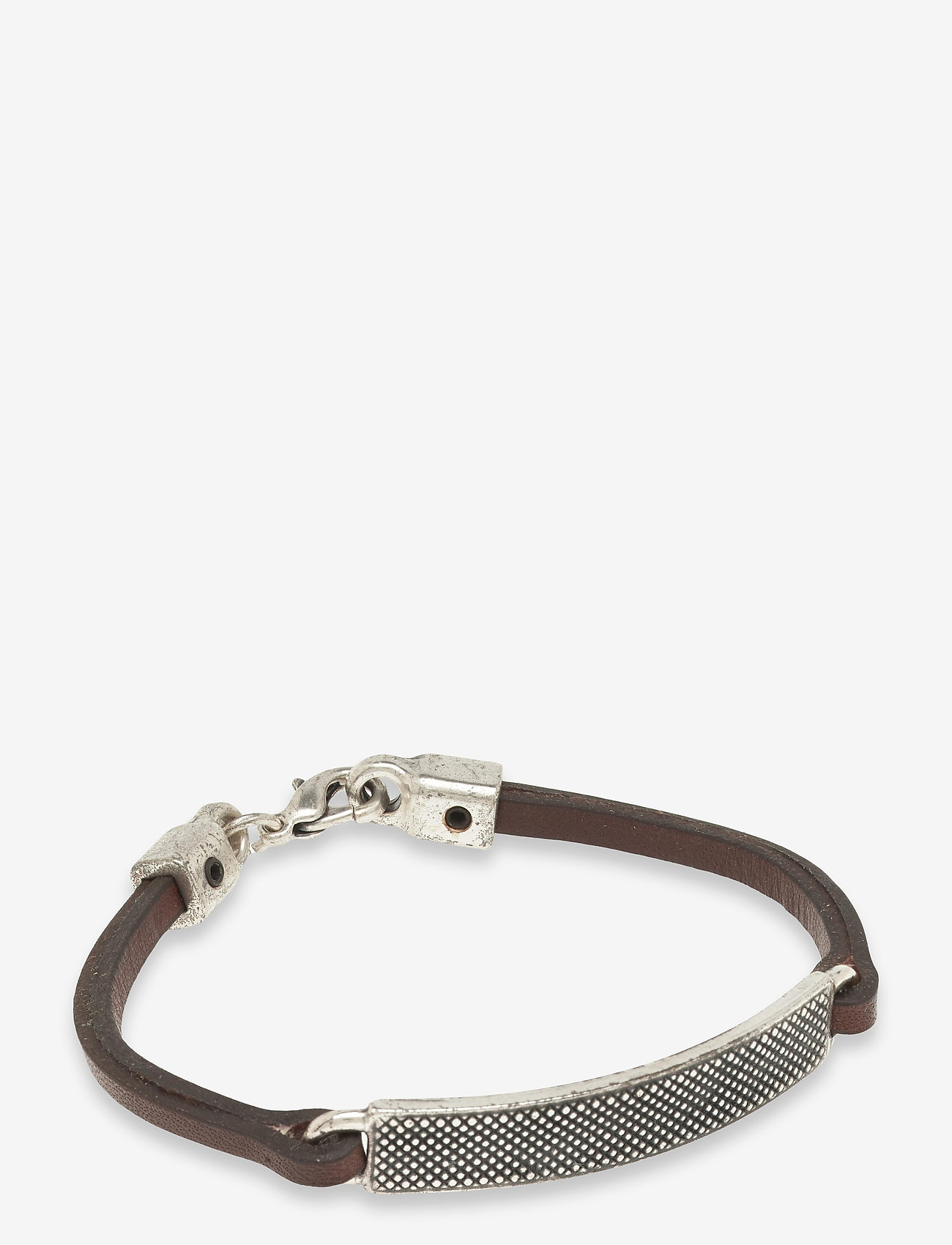 Saddler - Sdlr Bracelet Male - jewellery - brown - 0