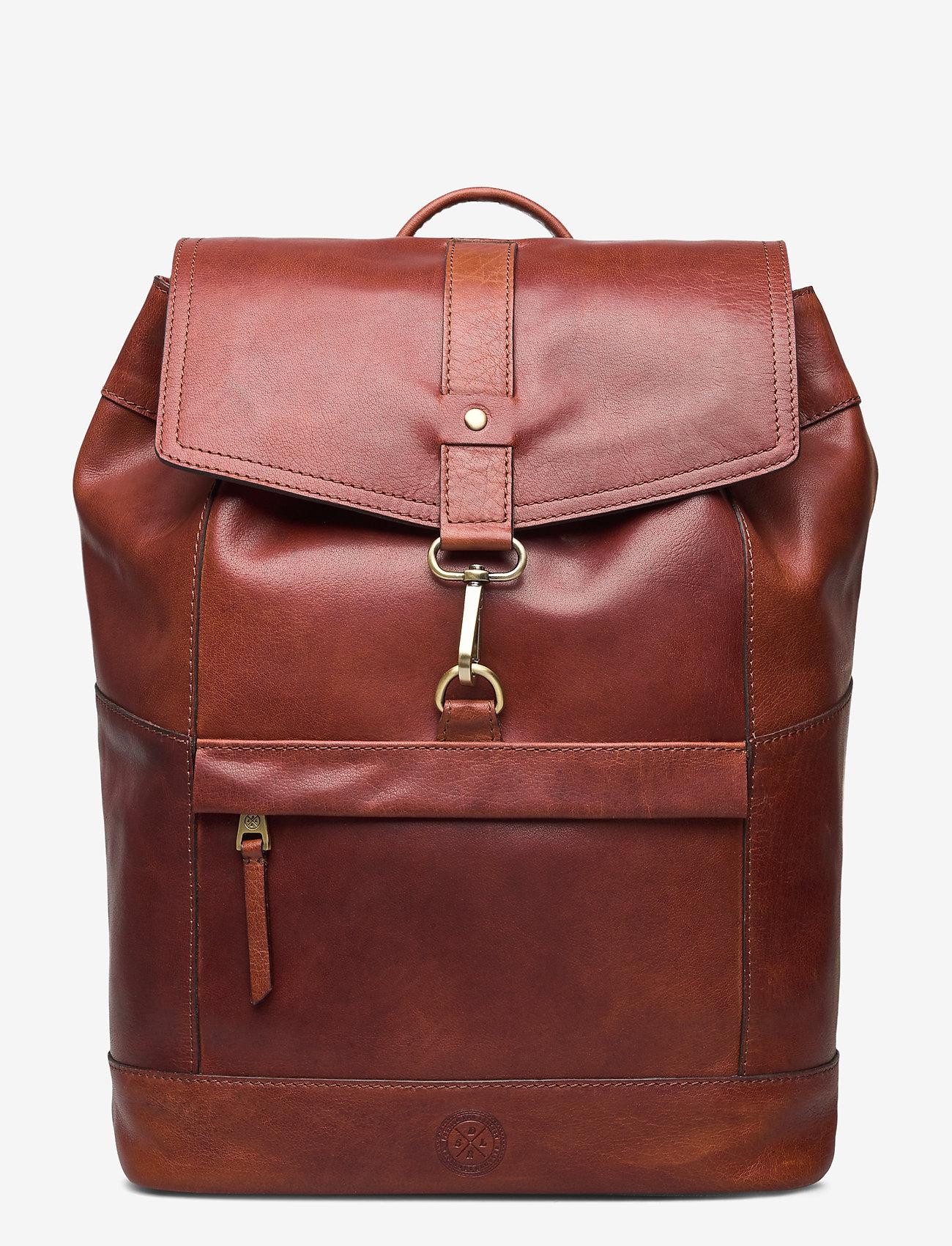 Saddler - Derek - backpacks - midbrown - 0