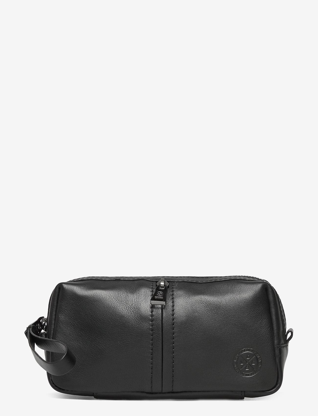 Saddler - Jake - toiletry bags - black - 0