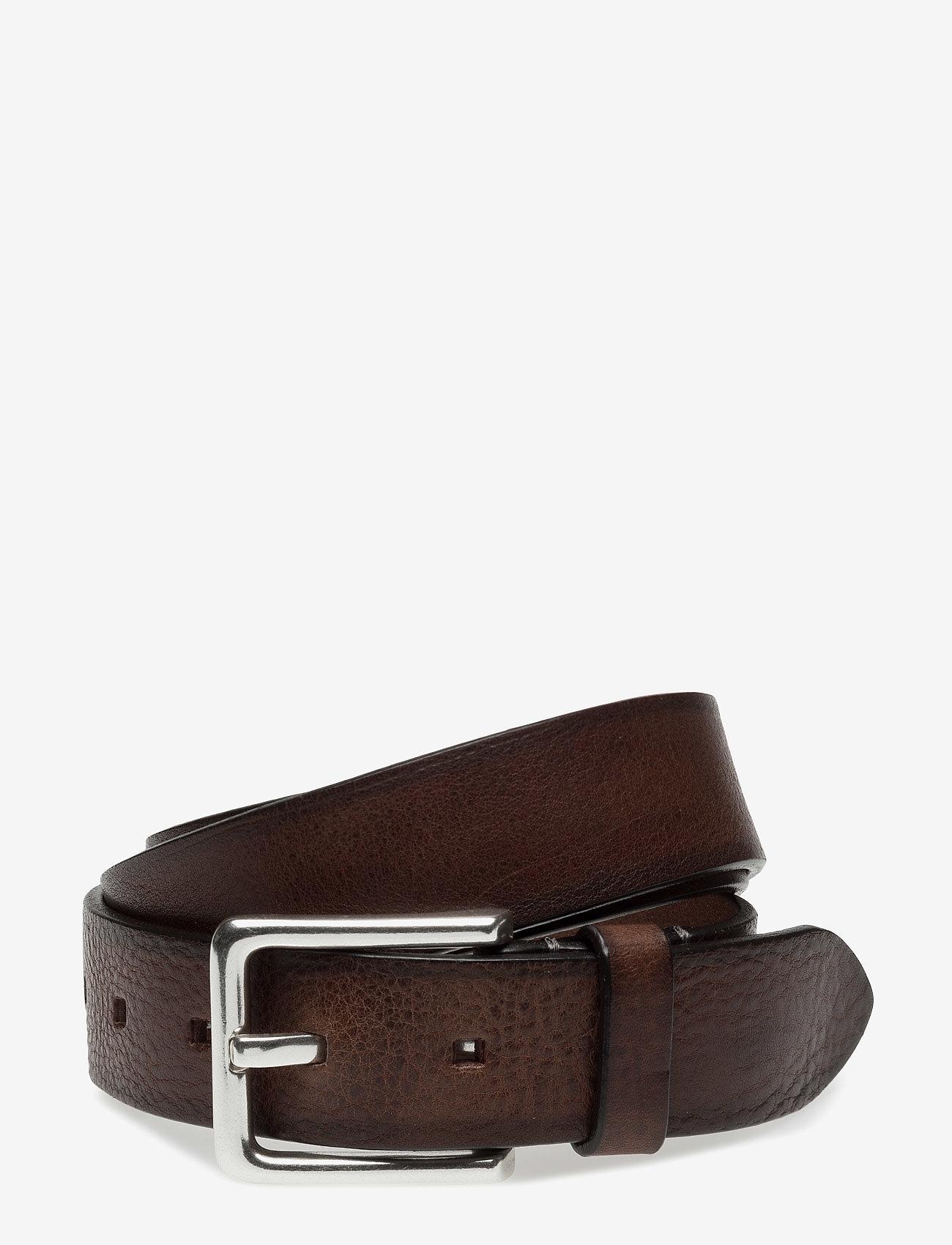 SDLR - SDLR Belt Male - belts - brown - 0