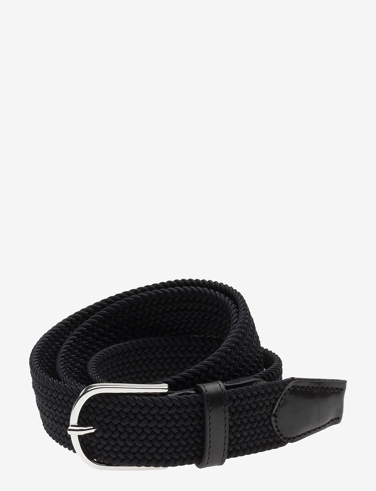 SDLR - SDLR Belt Male - kudottu vyö - black - 0