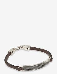 Sdlr Bracelet Male - BROWN