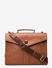 Saddler - Ljungby - briefcases - tan - 0