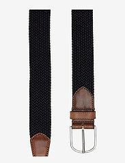Saddler - SDLR Belt Male - belts - navy - 1