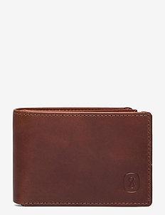 Rybakken - klasyczny portfel - brown