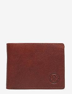 Mandal - portefeuille classique - midbrown