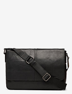 Enzo - schoudertassen - black