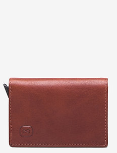 Hampus - cardholder - midbrown