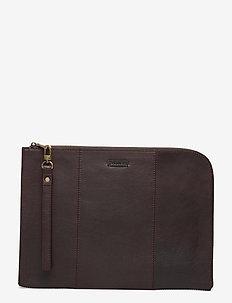 Matheo - laptoptassen - dk.brown