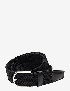 SDLR Belt Male - gevlochten riemen - black