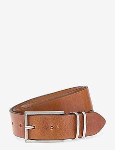 Abraham - belts - cognac
