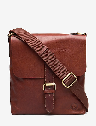 Verdal - shoulder bags - midbrown