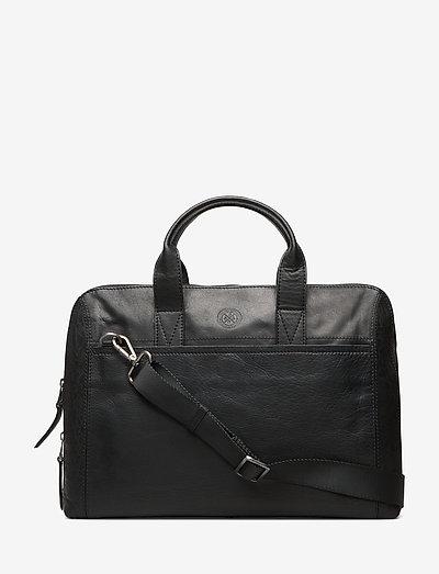 Gustav - laptop bags - black