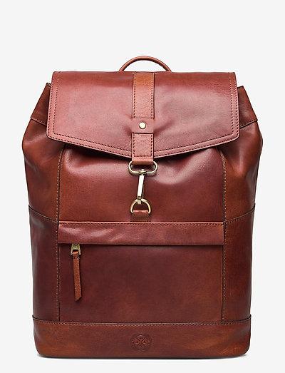 Derek - backpacks - midbrown