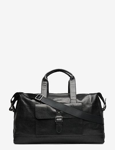 Charles - weekend bags - black