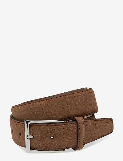 SDLR Belt Male - vyöt - brown