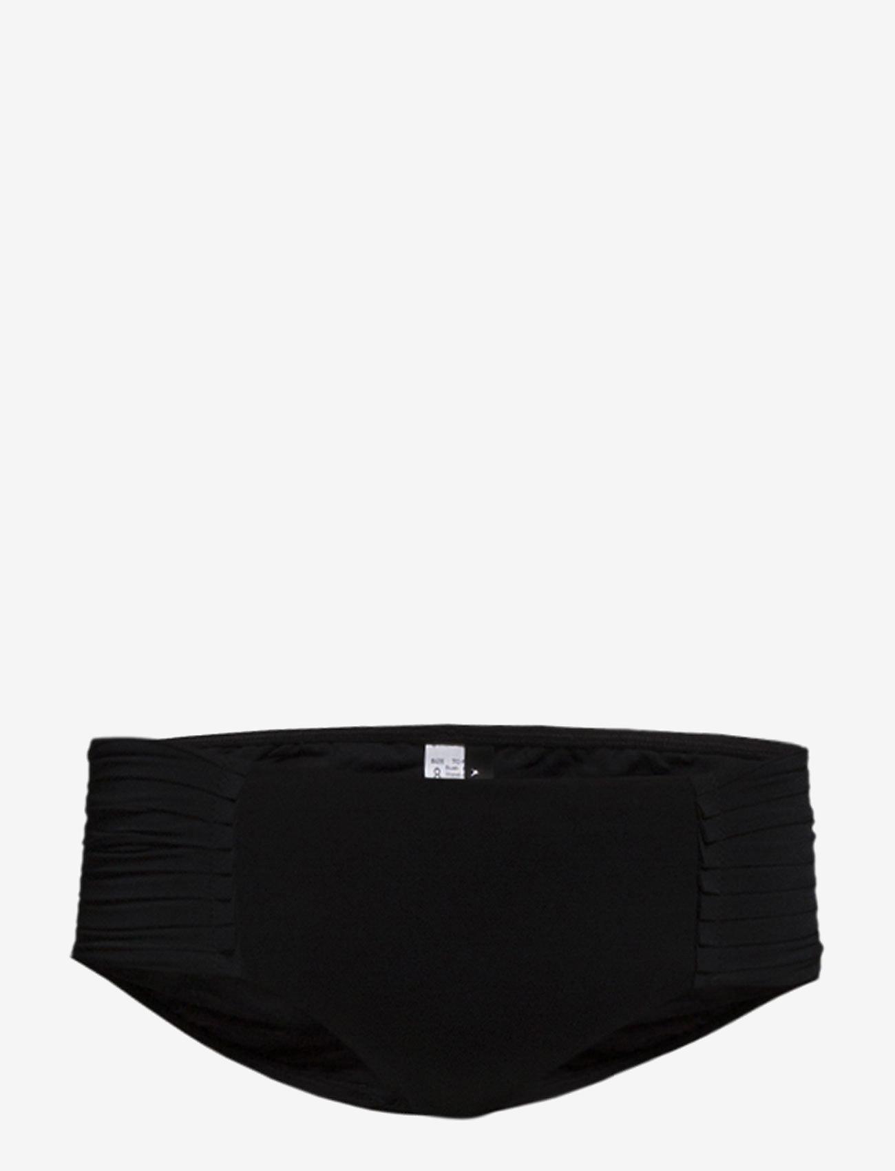 Seafolly - Pleated Retro - bikini apakšbikses - black - 0