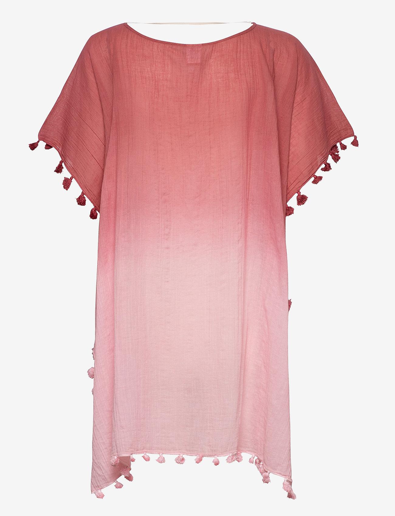 Seafolly - Dip Dye Kaftan - strandtøj - rustpink - 1