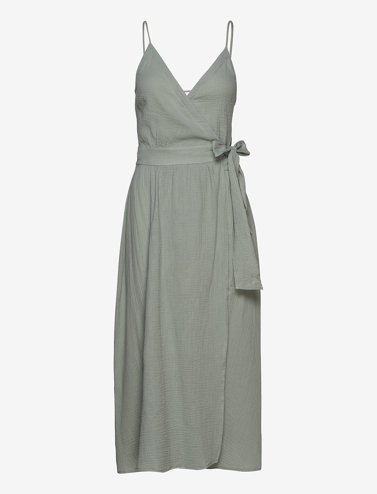 Seafolly - Double Cloth Wrap Dress - strandtøj - sage - 0