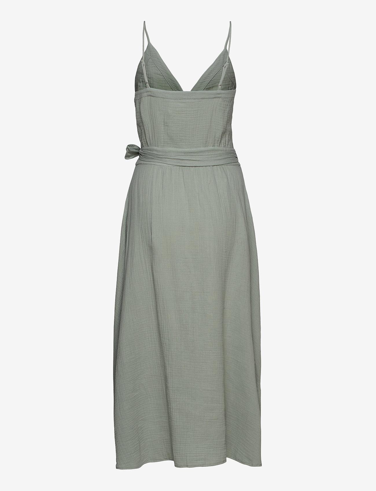 Seafolly - Double Cloth Wrap Dress - strandtøj - sage - 1
