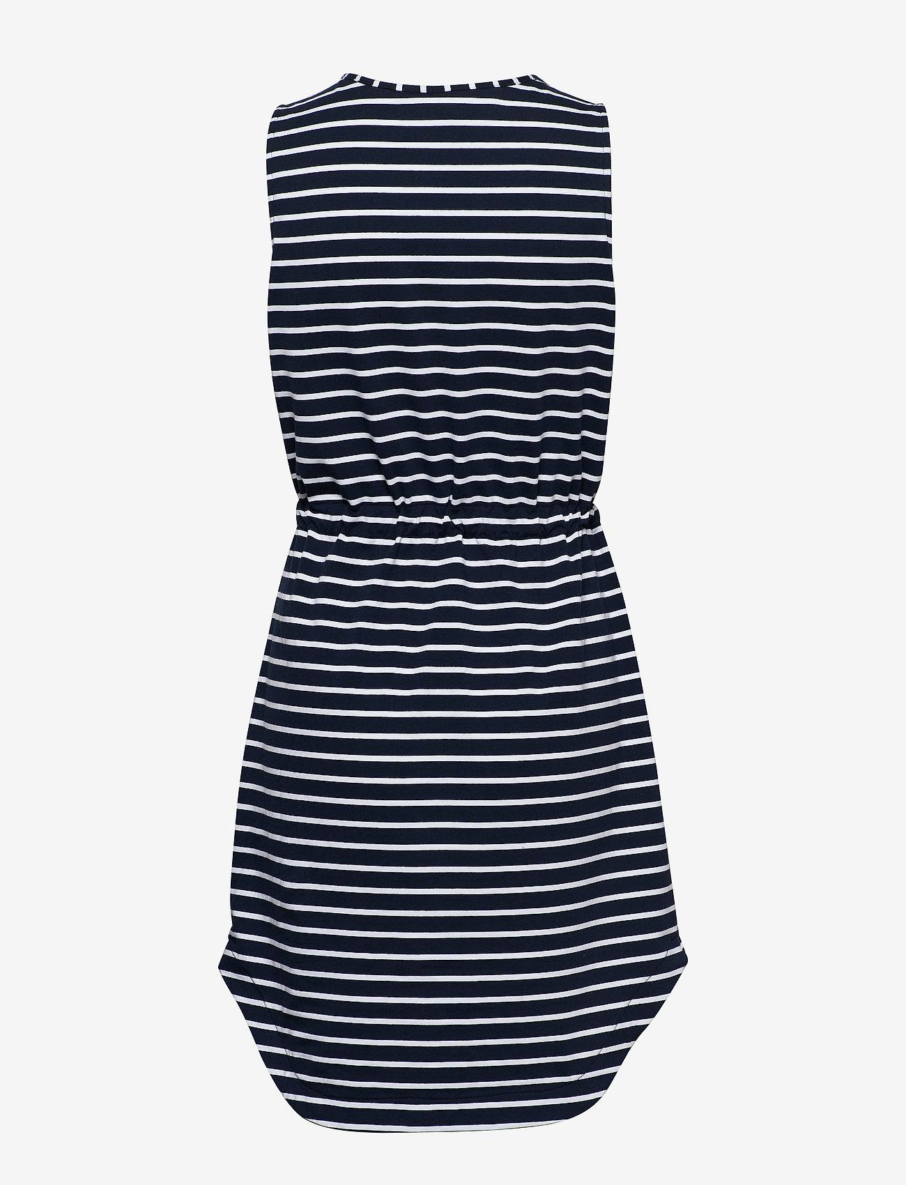 Seafolly - Vacay Tank Dress - strandtøj - nvy/wht st - 1