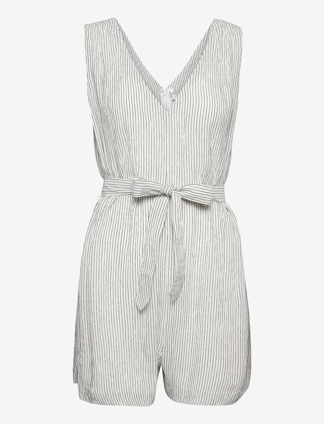 Seafolly - Waves Playsuit - jumpsuits - white - 0