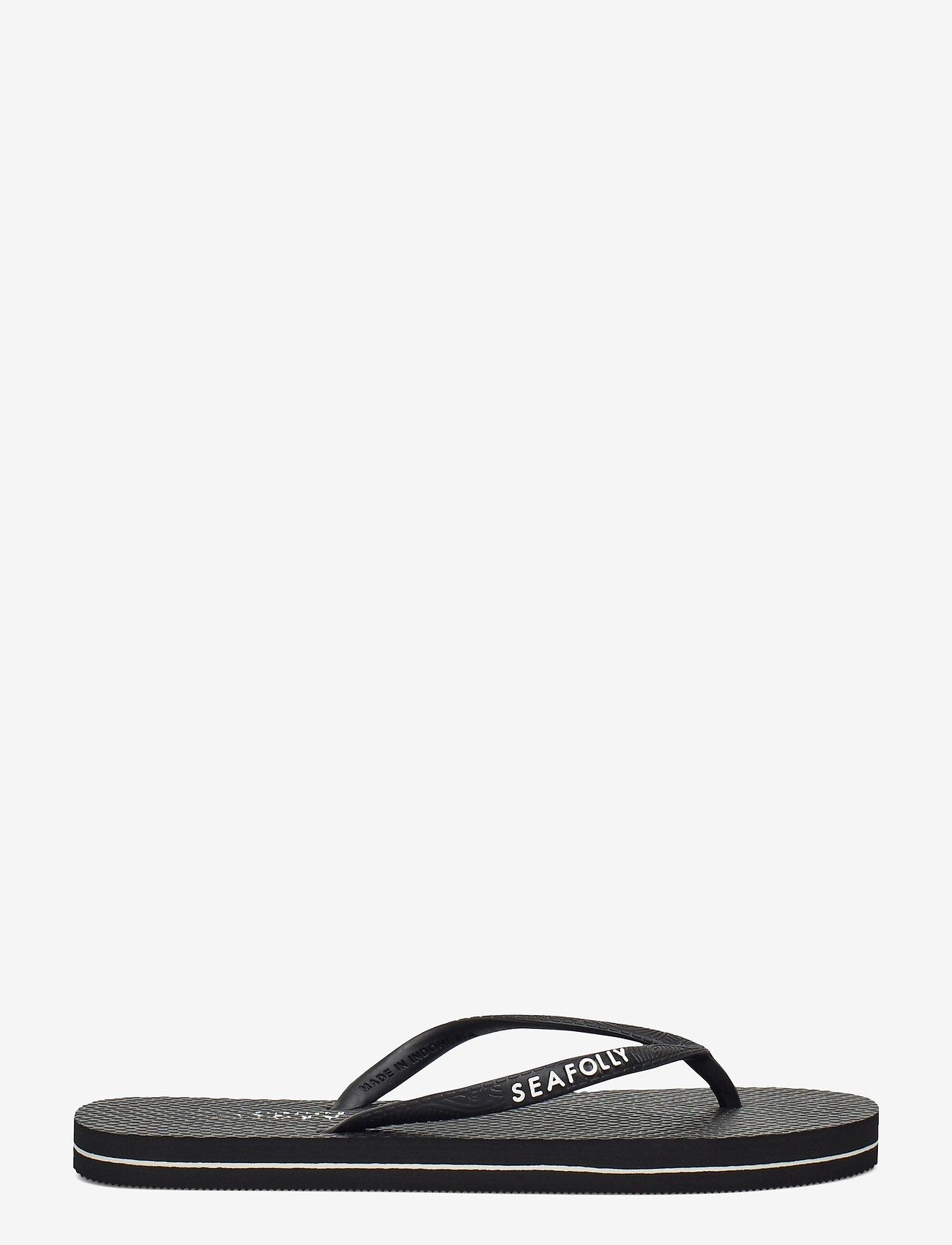 Seafolly - Walk about Divine Thong - teenslippers - black - 1