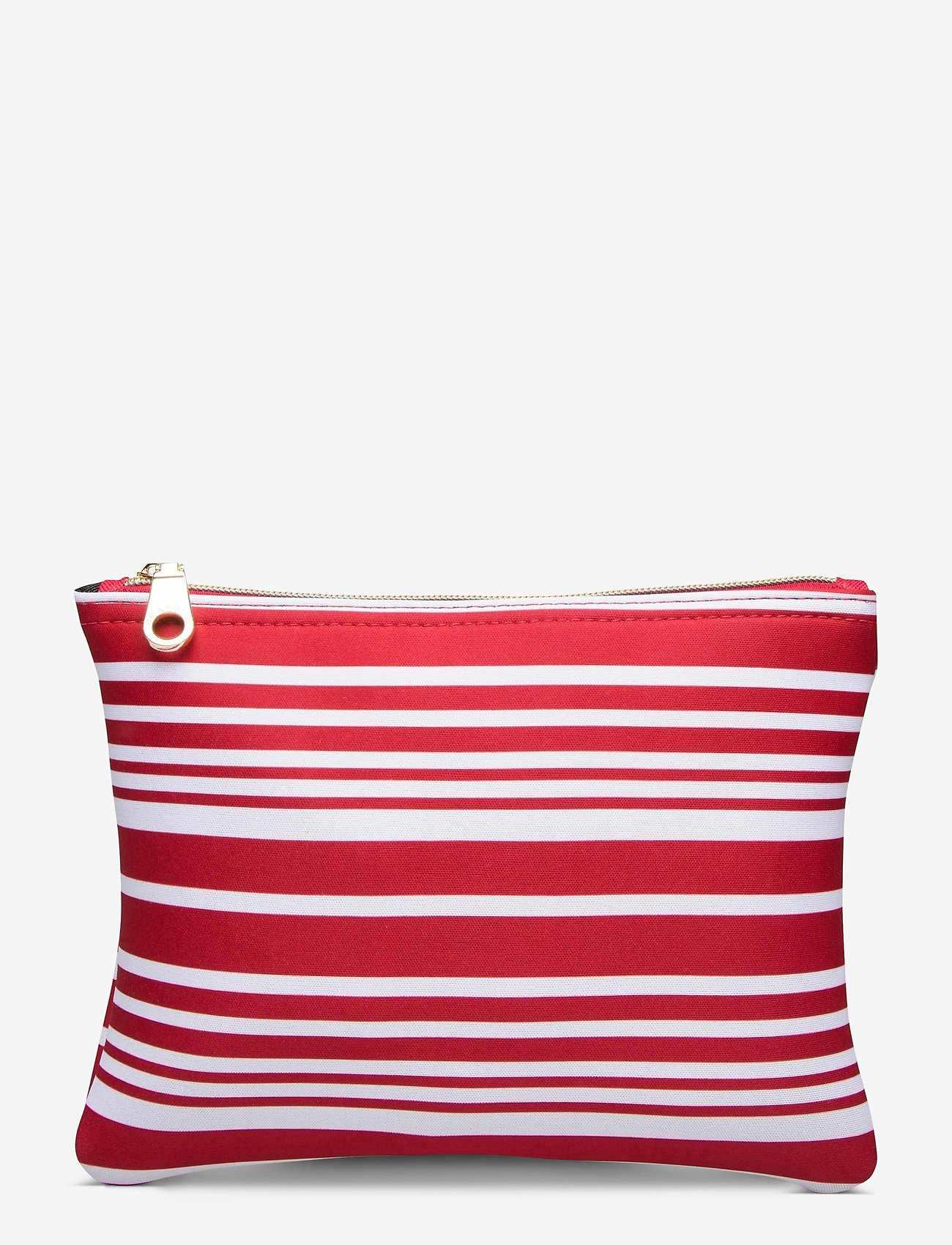 Seafolly - Carried Away Classic Stripe Bikini Bag - toilettassen - chilli - 0