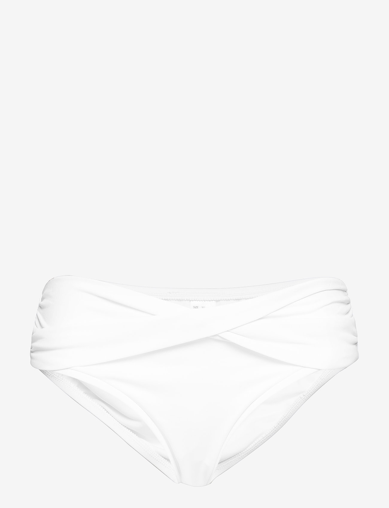 Seafolly - Seafolly Twist Band Hipster - bikini bottoms - white - 0