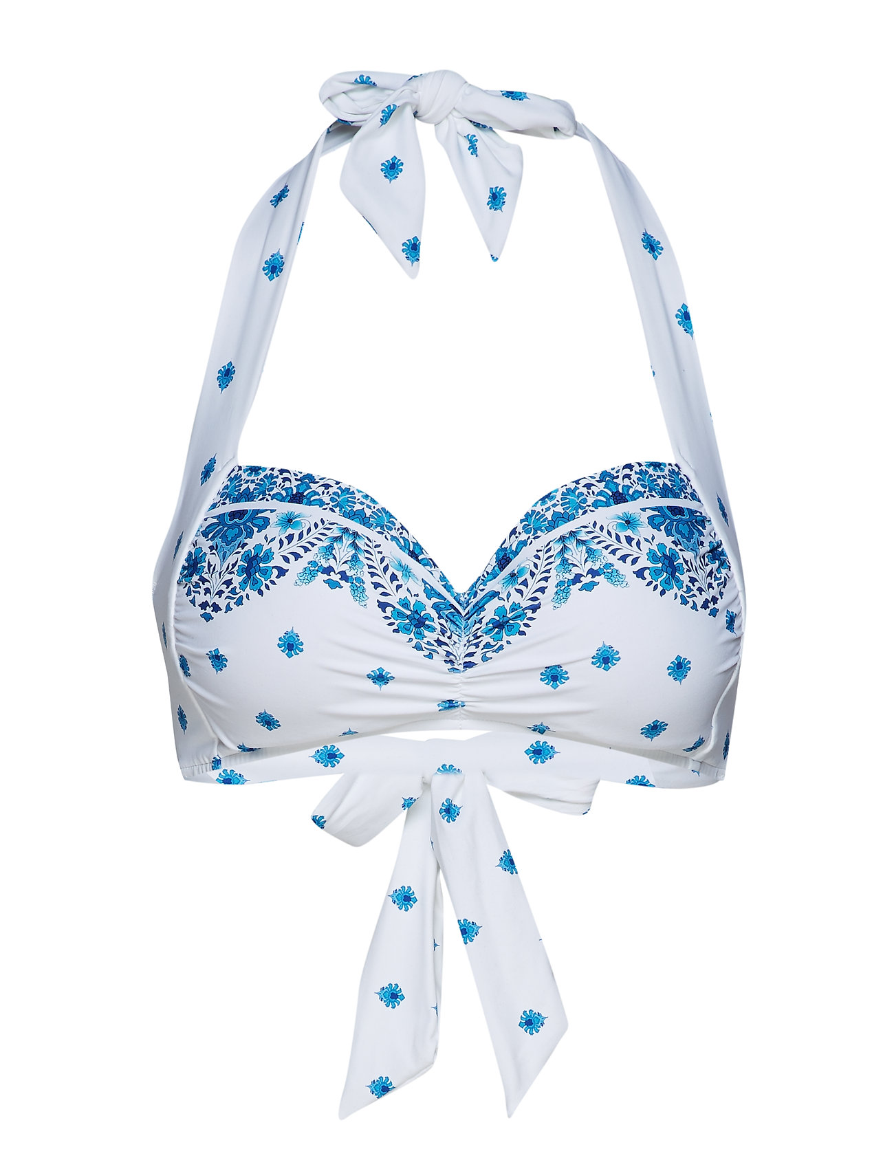 Seafolly Soft Cup Halter - ELECTRIC BLUE