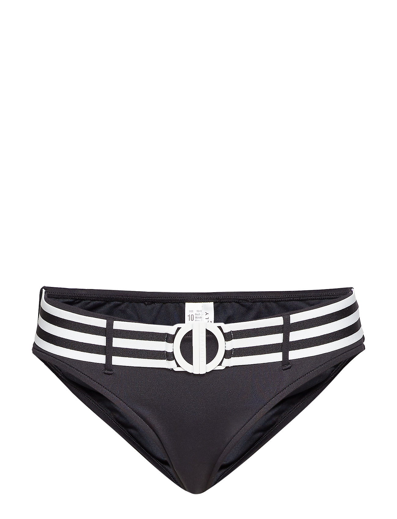 Seafolly Belted Hipster - BLACK