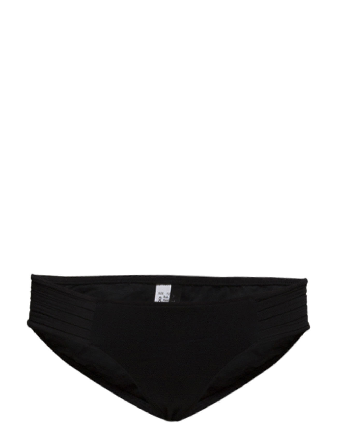 Seafolly Pleated Hipster - BLACK