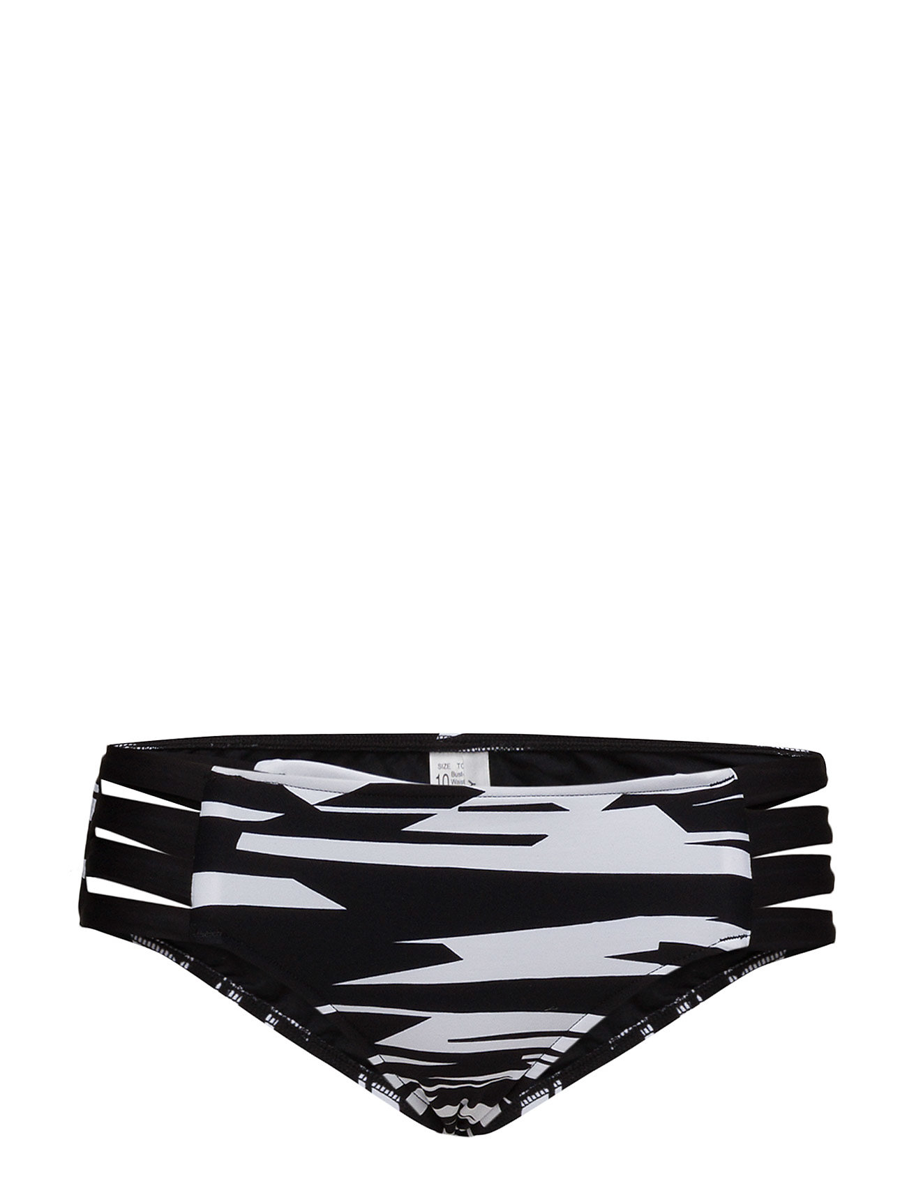 Seafolly Fastlane Multi Strap Hipster - BLACK WHITE