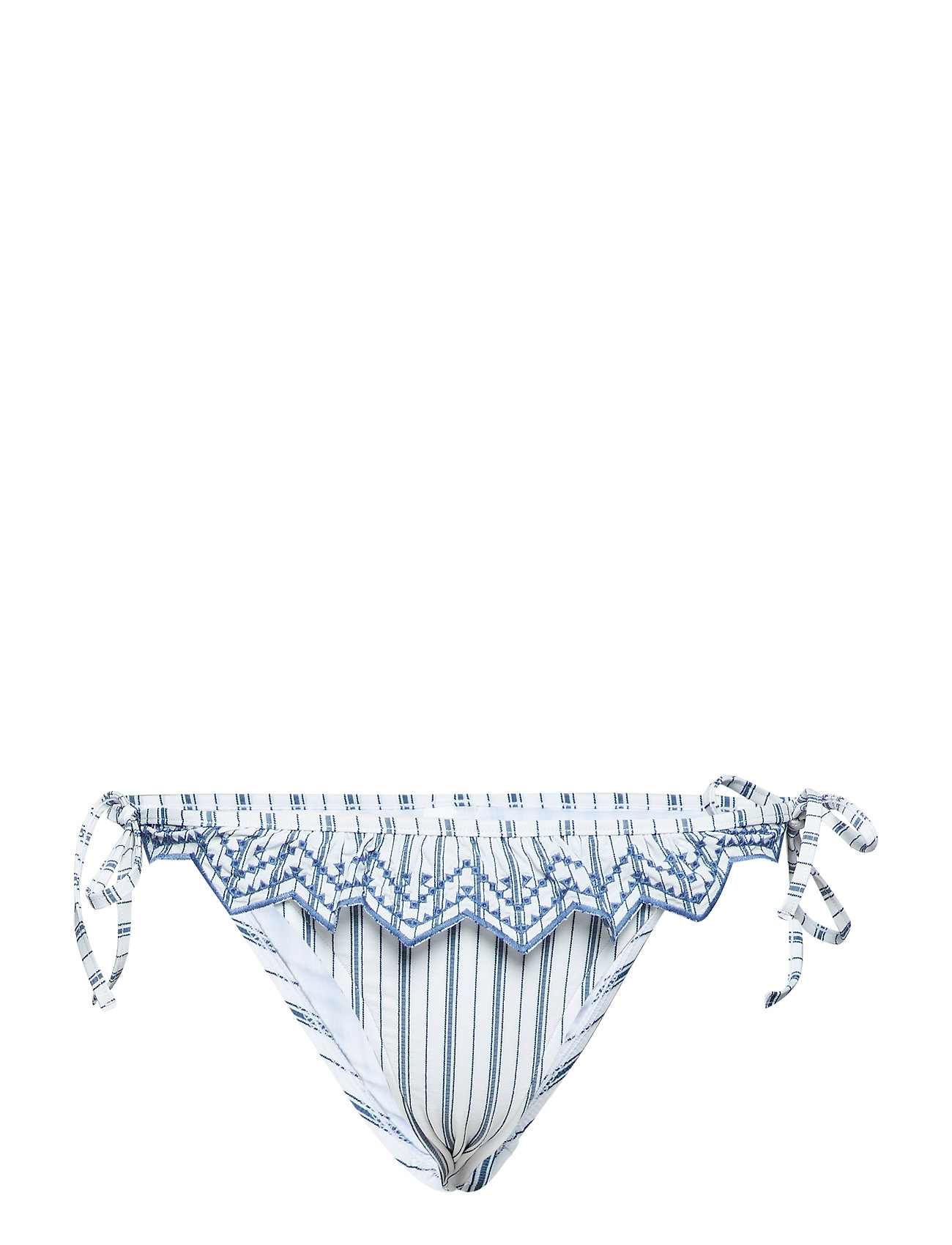 Seafolly Brazilian Tie Side - WHITE